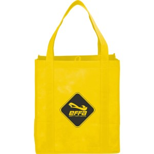 The Hercules Large Grocery Tote - Yellow