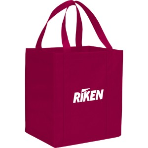 The Hercules Large Grocery Tote - Maroon