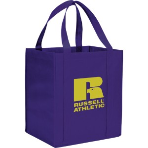 The Hercules Large Grocery Tote - Purple