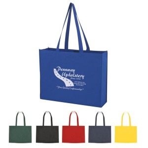 XL Non-Woven Shopper Tote with Velcro Closure