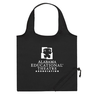 Black Folding Travel Color Tote Custom Logo