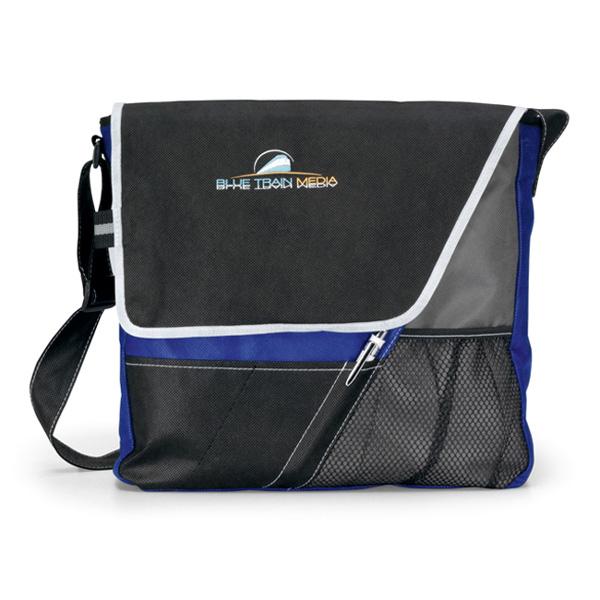Accent Messenger Bag - Royal Blue