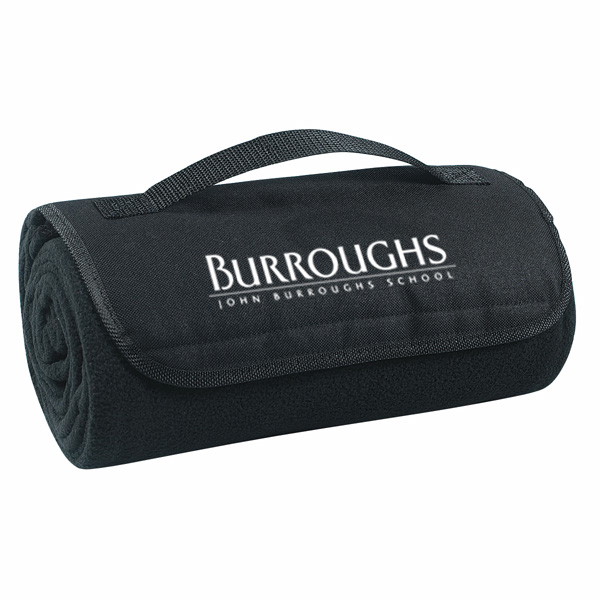 Roll Up Blanket With Custom Imprint 4allpromos