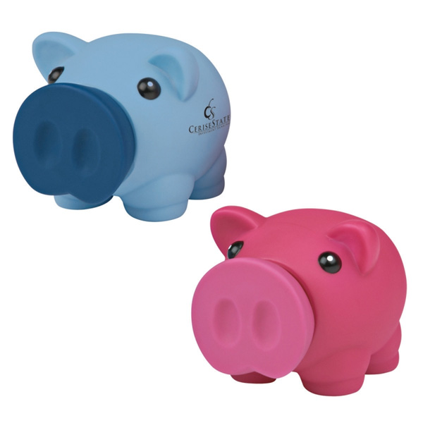 Promotional mini prosperous piggy bank 4allpromos for Mini piggy banks