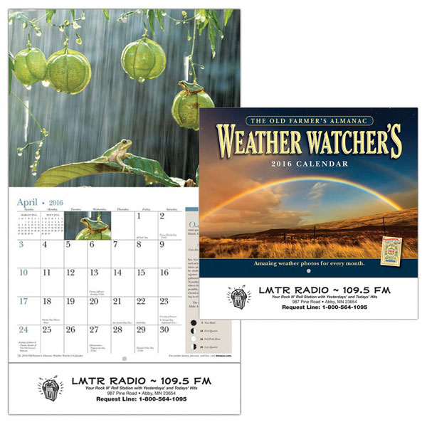 Old farmer 39 s almanac weather watcher 39 s calendar science - Old farmer s almanac garden planner ...