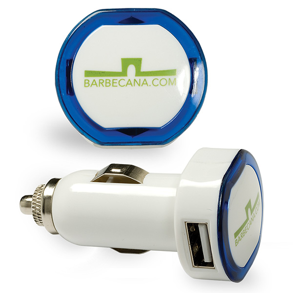 Custom promotional usb car charger 4allpromos for Car port pl