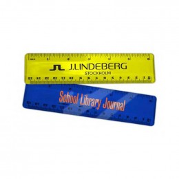 6 inch Acrylic Ruler Promotional Custom Imprinted With Logo