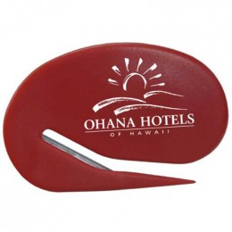 Oval Keystone Cutter Promotional Custom Imprinted With Logo