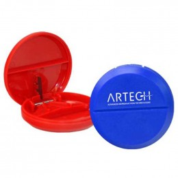 Round Pill Cutter Promotional Custom Imprinted With Logo