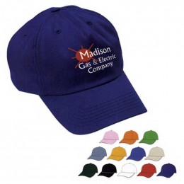 Unstructured Price Buster Cap - Embroidered Custom Imprinted With Logo