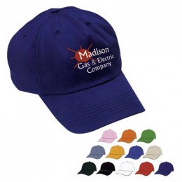 Unstructured Price Buster Cap - Silk-Screen Promotional Imprinted With Logo