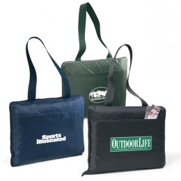 Performance Blanket Tote Promotional Custom Imprinted With Logo