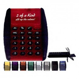 Flip Calculator Promotional Custom Imprinted With Logo