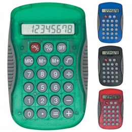 Sport Grip Calculator Promotional Custom Imprinted With Logo
