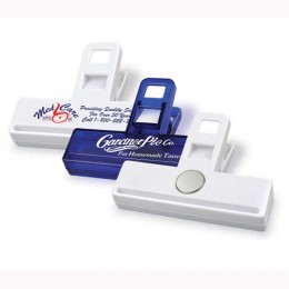 "Toughie Magnetic 3"" Bag Clip Promotional Custom Imprinted With Logo"