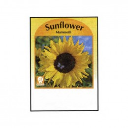 Sunflower (Mammoth) Seed Packets Promotional Custom Imprinted With Logo