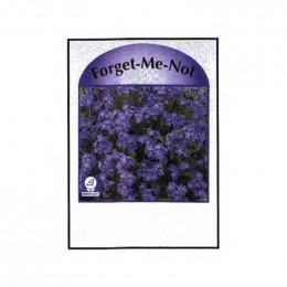 Forget-Me-Not Seed Packets Promotional Custom Imprinted With Logo