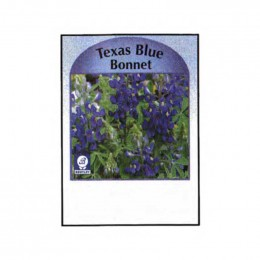 Texas Blue Bonnet Seed Packets Promotional Custom Imprinted With Logo