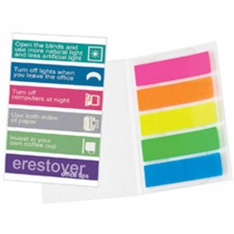 Mylar Flag Booklets Promotional Custom Imprinted With Logo