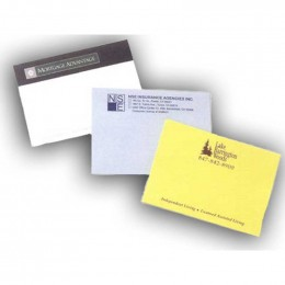 "4""x3"" Sticky Notes - 100 sheets - 4 Color Promotional Custom Imprinted With Logo"