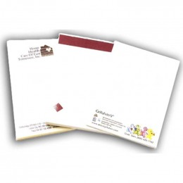 "4"" x 6"" Sticky Notepads - 100 Sheets - 4 Color Promotional Custom Imprinted Logo"