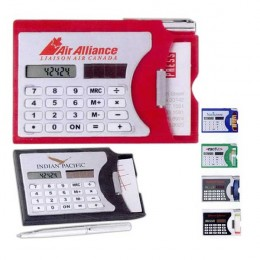 Calculator/ Business Card Holder Promotional Custom Imprinted With Logo