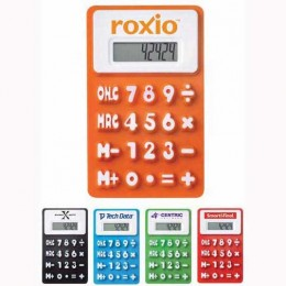 The Flex Calculator Promotional Custom Imprinted With Logo