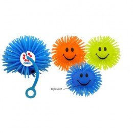 Happy Face Yo-Yo Ball Promotional Custom Imprinted With Logo