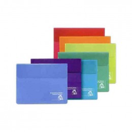 Translucent Compact Portfolio Promotional Custom Imprinted With Logo