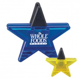 Star Memo Clip Promotional Custom Imprinted With Logo