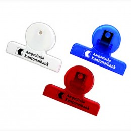 Round Shaped Chip Clip Promotional Custom Imprinted With Logo