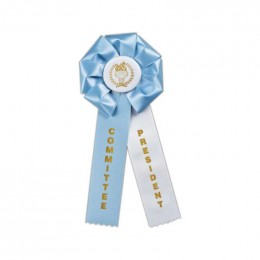 Custom Rosette - 810 Promotional Custom Imprinted With Logo