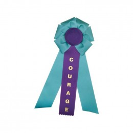 Custom Rosette - 811 Promotional Custom Imprinted With Logo