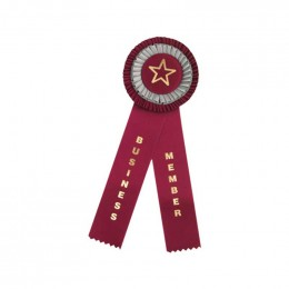 Custom Rosette - 812 Promotional Custom Imprinted With Logo