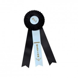 Custom Rosette - 820 Promotional Custom Imprinted With Logo