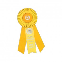 Custom Rosette - 838 Promotional Custom Imprinted With Logo