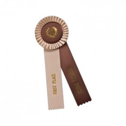 Custom Rosette - 848 Promotional Custom Imprinted With Logo