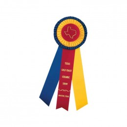 Custom Rosette - 852 Promotional Custom Imprinted With Logo