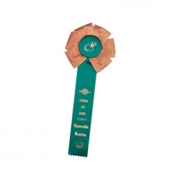 Custom Rosette - 86 Promotional Custom Imprinted With Logo