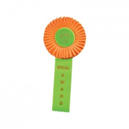 Custom Rosette - 87 Promotional Custom Imprinted With Logo