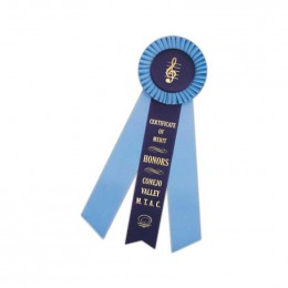Custom Rosette - 881 Promotional Custom Imprinted With Logo