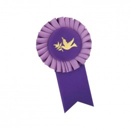 Custom Rosette - 901 Promotional Custom Imprinted With Logo