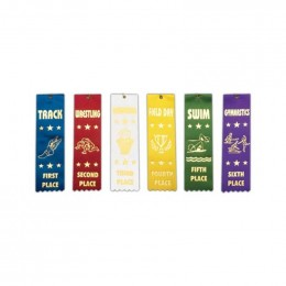 Stock Sports Ribbons Promotional Custom Imprinted With Logo