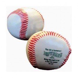 Baseball Throw Ball Promotional Custom Imprinted With Logo