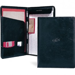 Executive Vintage Leather Writing Pad Promotional Custom Imprinted With Logo
