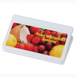 4 Inch Magnetic Clip with Digital Imprint Promotional Custom Imprinted With Logo