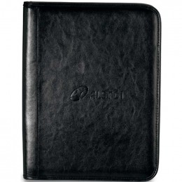 Tuscan Leather Padfolio Promotional Custom Imprinted With Logo