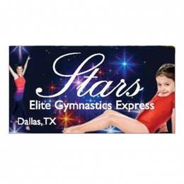 "Full Color Rectangle Car Magnet - 3.75"" x 7.5"" Promotional"