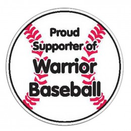 Baseball Car Magnet Promotional Custom Imprinted With Logo