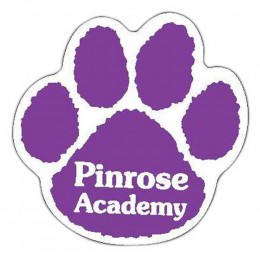 Paw Print Car Magnet Promotional Custom Imprinted With Logo